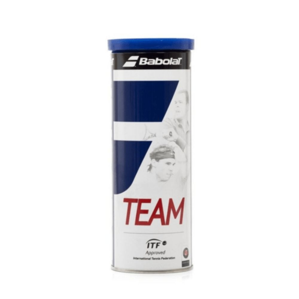 Tubo de Bolas de Tênis Babolat Team