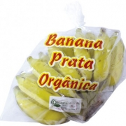 Banana Prata Orgânica - Pacote (800 - 1000g)