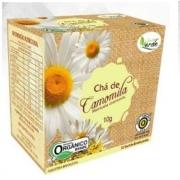 Chá de Camomila Orgânico 10 sachês - QUINTAL VERDE