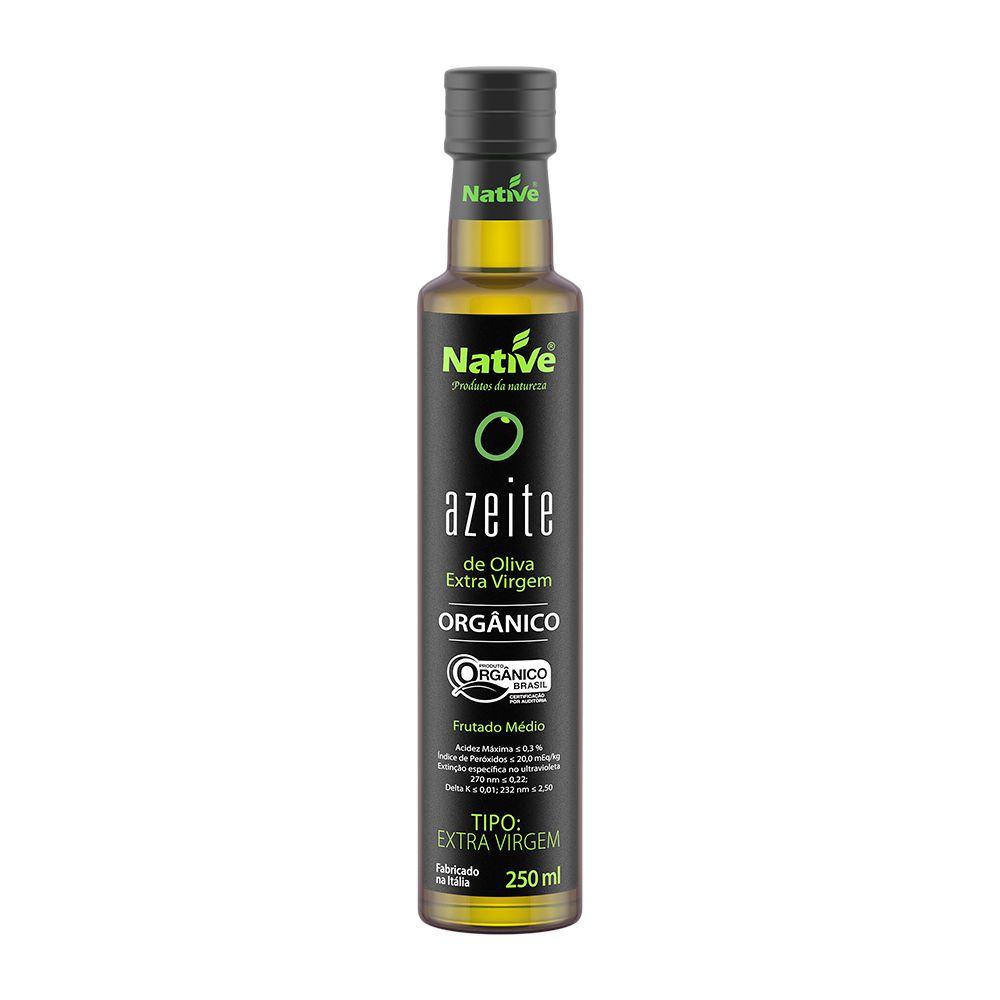Azeite de Oliva Extra Virgem Orgânico 250ml - NATIVE