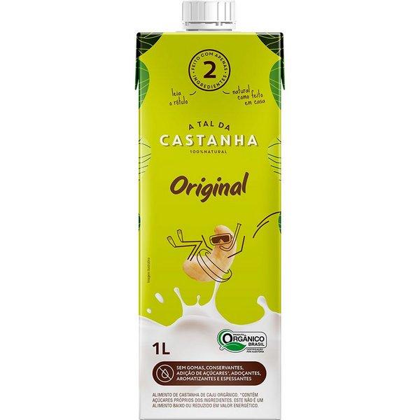 Bebida Vegetal de Castanha de Caju Orgânico 1l - A TAL DA CASTANHA