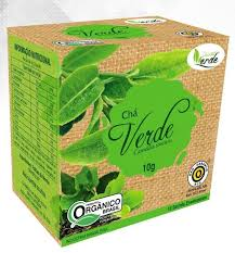 Chá Verde Orgânico 10 sachês - QUINTAL VERDE