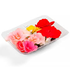 Flor Comestível - bandeja