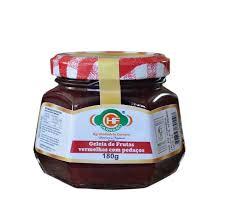 Geleia de Frutas Vermelhas em Pedaços Orgânica 180G - CARRARO