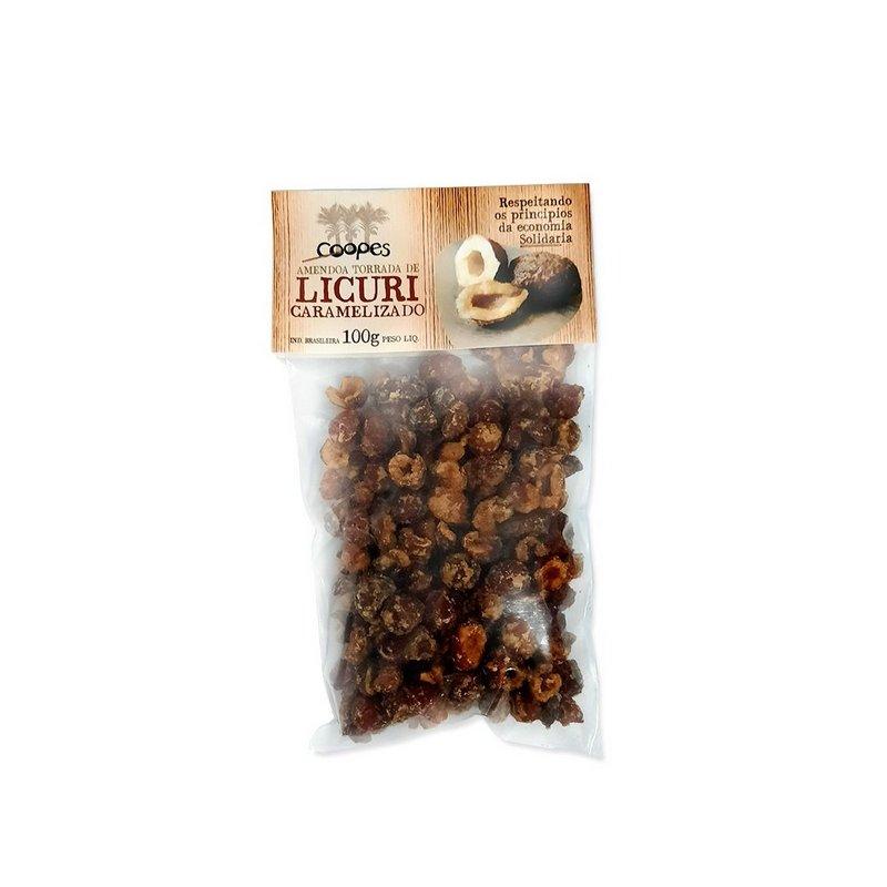 Licuri Amendoa Torrada e Caramelizada com Rapadura 100g - COOPES