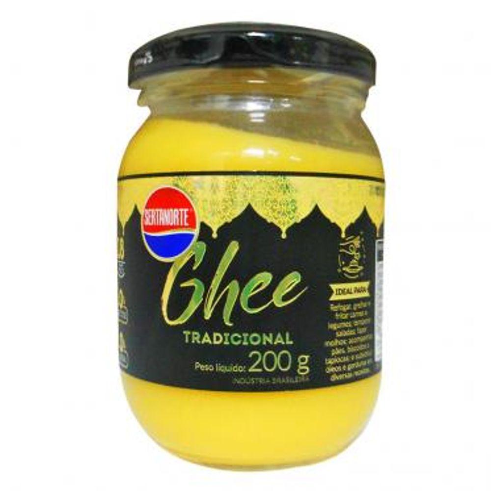 Manteiga Ghee 200g - SERTANORTE