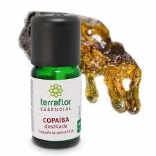 Óleo Essencial de Copaíba Destilada 10ml - TERRA FLOR