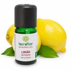 Óleo Essencial de Limão Siciliano 10ml - TERRA FLOR