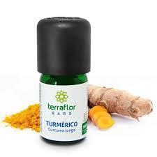 Óleo Essencial de Turmérico 5ml - TERRA FLOR RARO