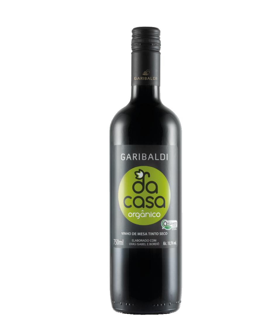 Vinho Tinto Seco Orgânico 750 ml - GARIBALDI