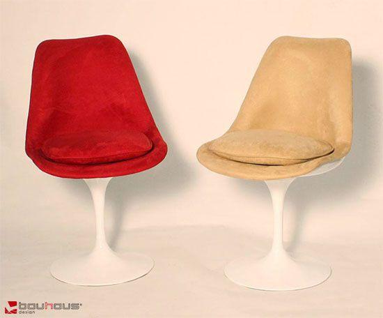 Cadeira Saarinen Revestida sem braço
