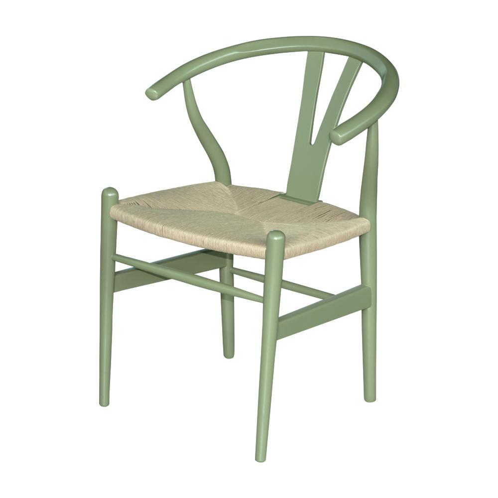 Cadeira Wishbone Bambu