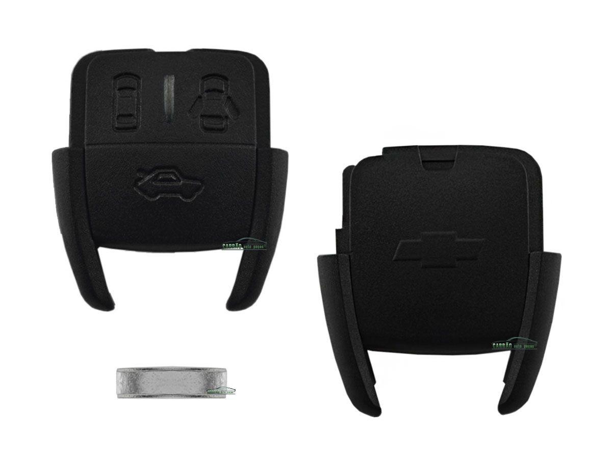 Capa e Contracapa do Telecomando da Chave Astra, Corsa, Vectra, Zafira, S10 Modelo 3 Botões