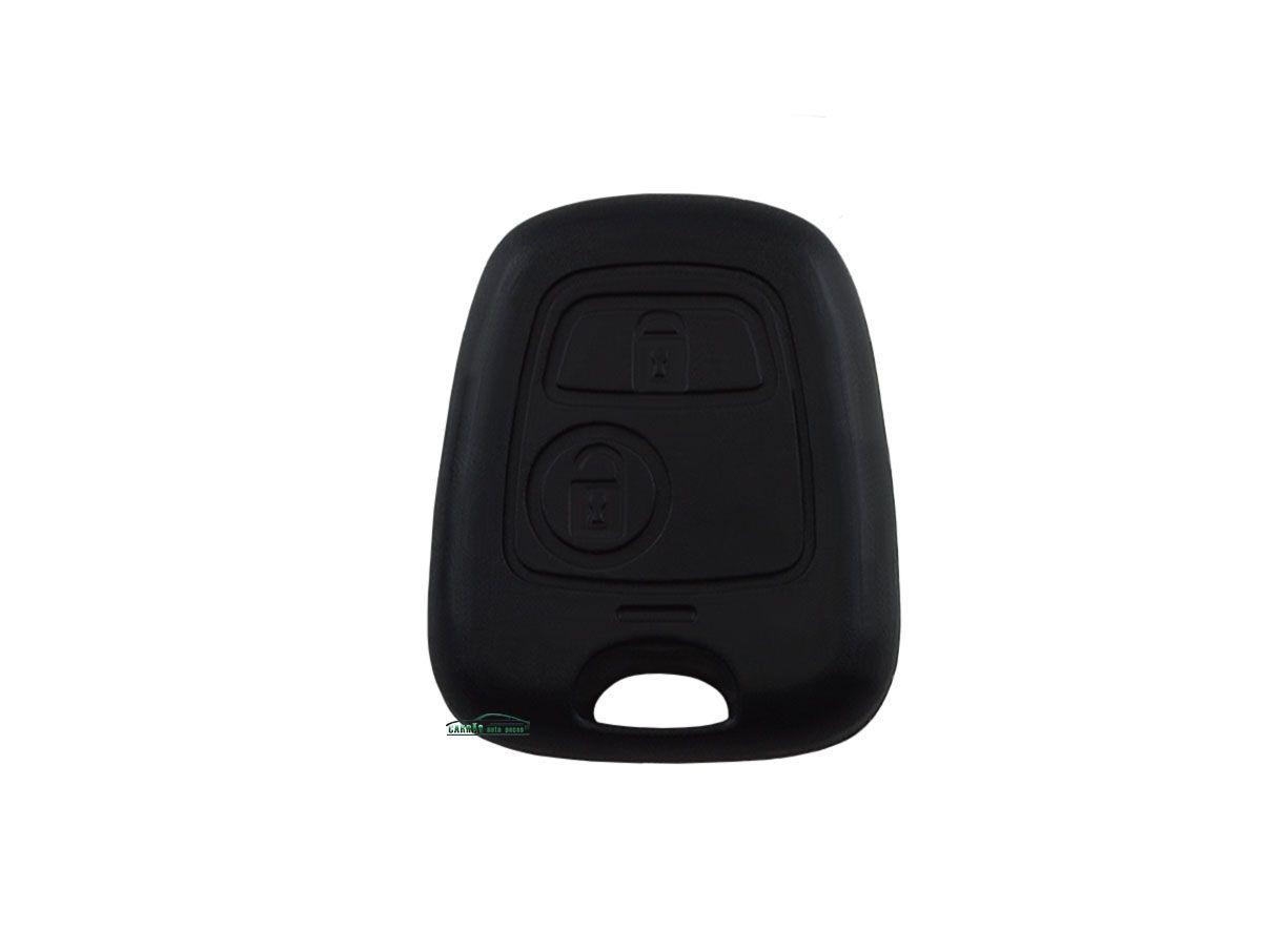 Capa e Contracapa do Telecomando da Chave Peugeot 206 207 306 Citroen C3 Berlingo Picasso