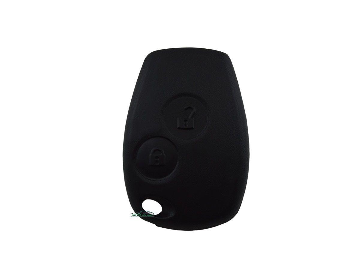 Capa e Contracapa do Telecomando da Chave Sandero Logan Symbol Vans