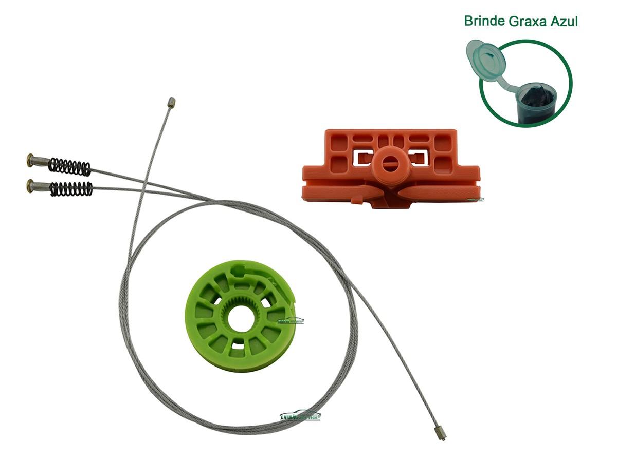 Kit Reparo Máquina de Vidro Elétrico Com Arraste Dianteiro  Linea