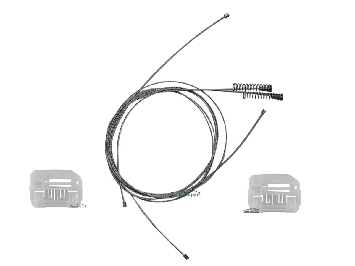 Kit Reparo Máquina de Vidro Elétrico Dianteiro I30 4 Portas Esquerdo