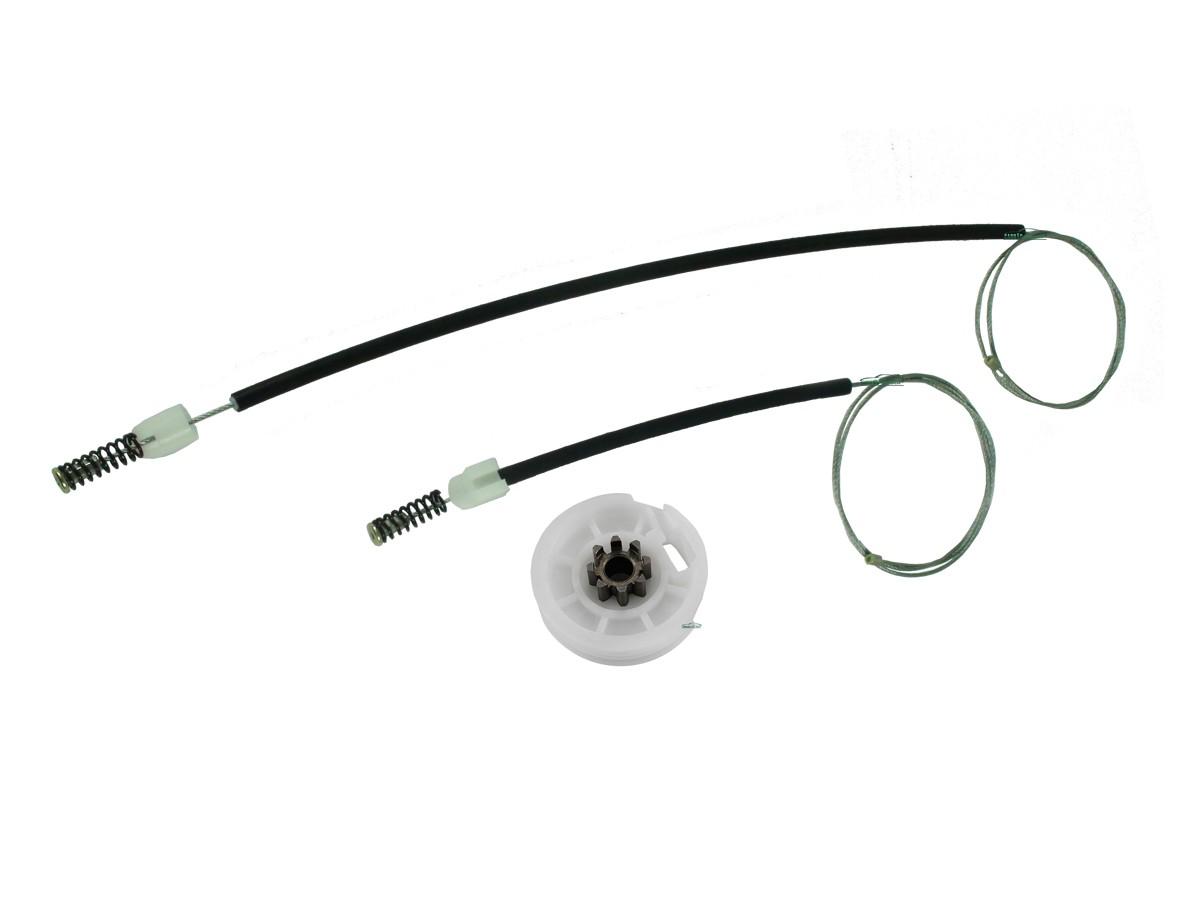 Kit Reparo Máquina de Vidro Elétrico Fox 2 Portas Engrenagem de Metal