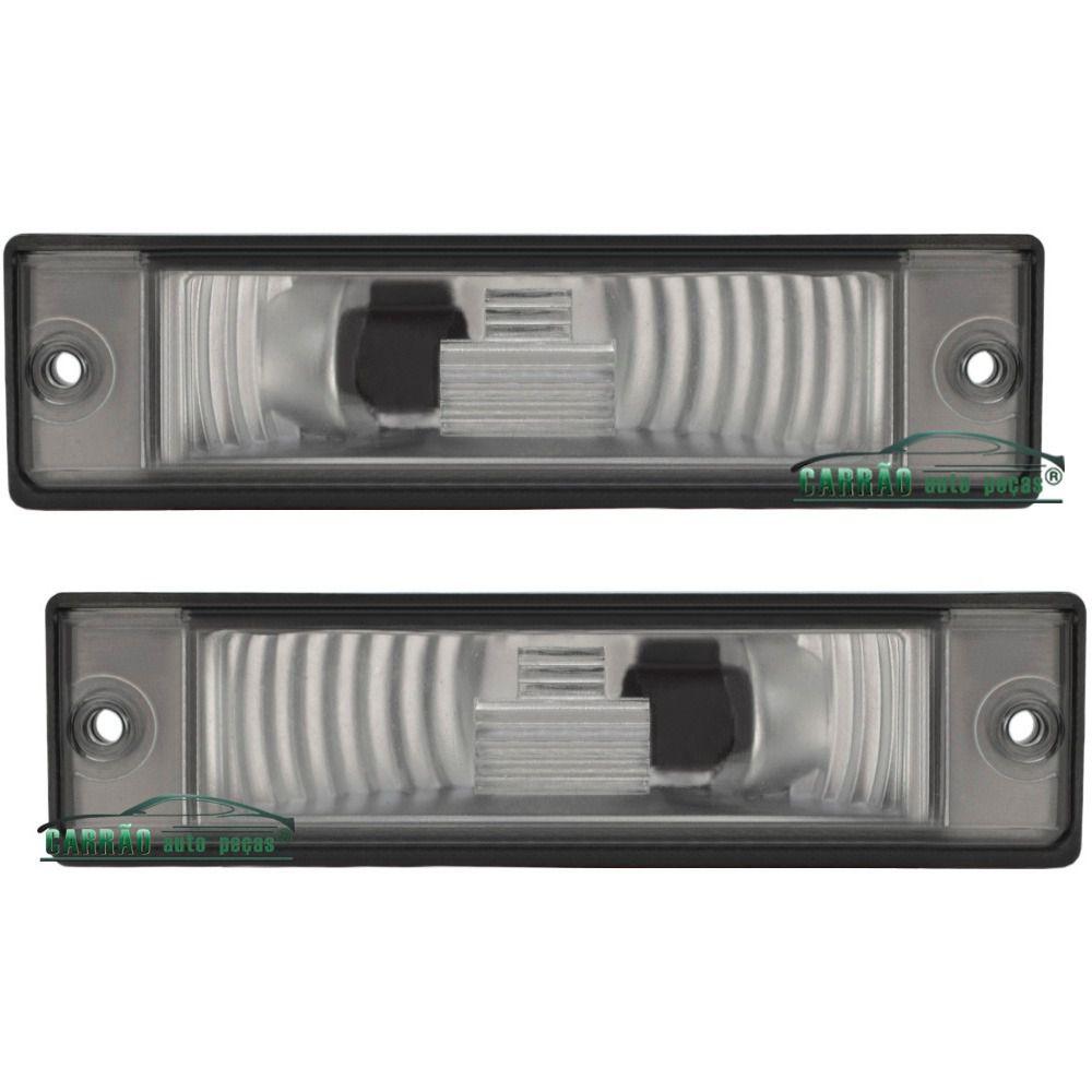 Lanterna De Placa Fiat Strada 2002 Em Diante