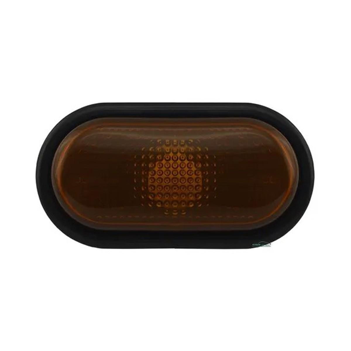 Lanterna Lateral Paralama Clio Scenic Duster Âmbar Moldura Preta