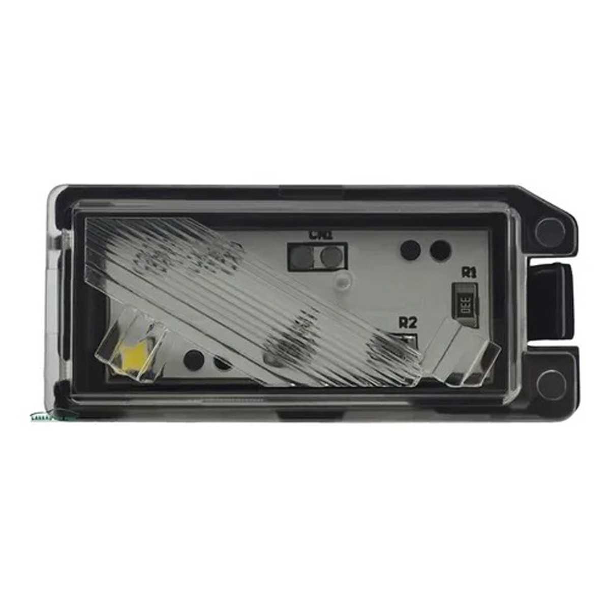 Lanterna Placa Fiat 500 Conector Quadrado