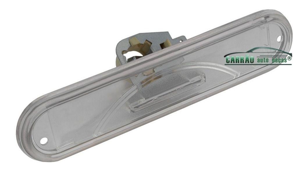 Lanterna Placa Parachoque Traseiro Kombi 1998 Em Diante Acrilico