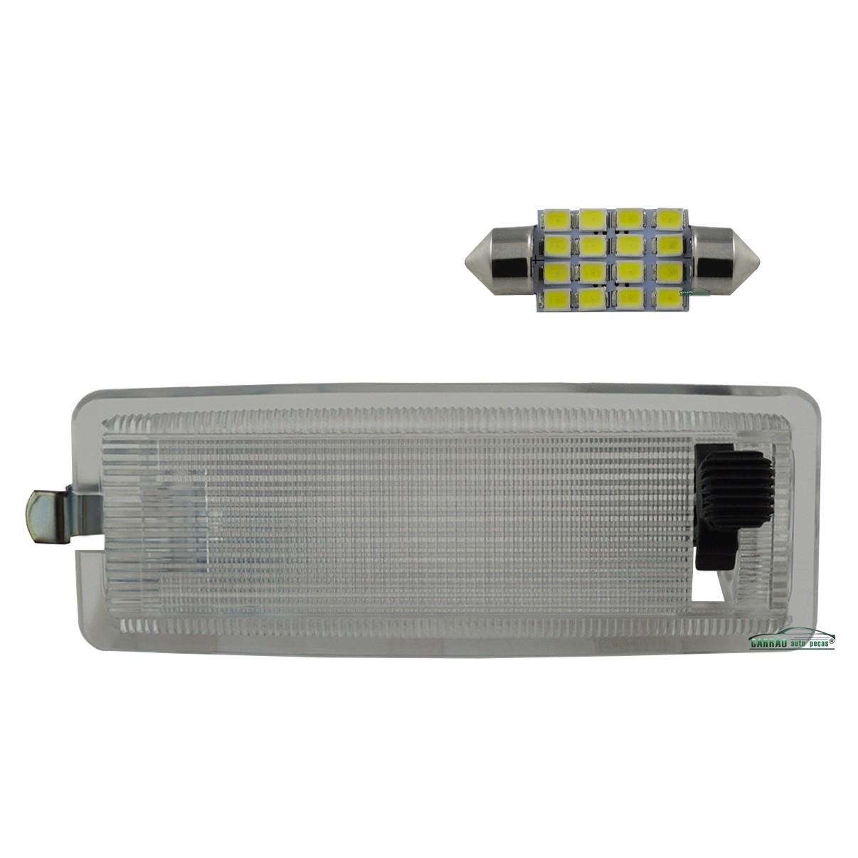 Lanterna Teto Gol Fusca Passat Brasilia Santana + LED