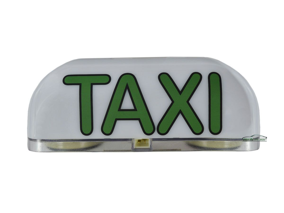 Luminoso De Táxi Led Modelo Médio