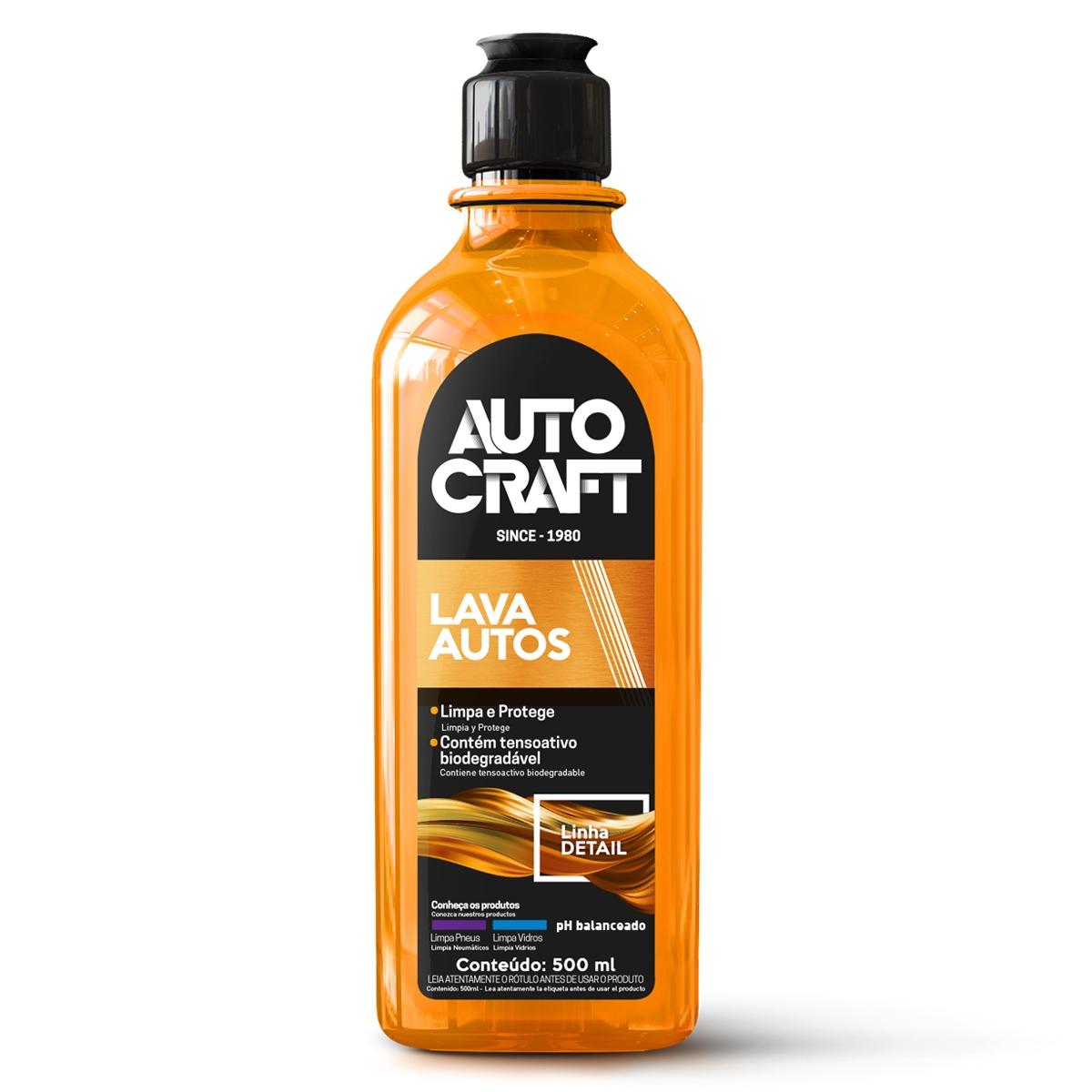 Shampoo Lava Autos Autocraft Proauto Carros Motos Caminhão