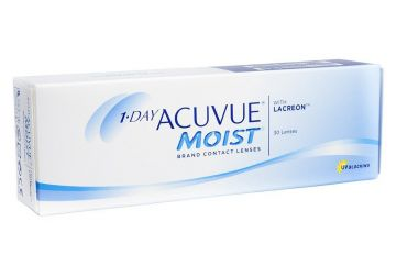 Lentes de Contato Acuvue 1-Day Moist para Miopia