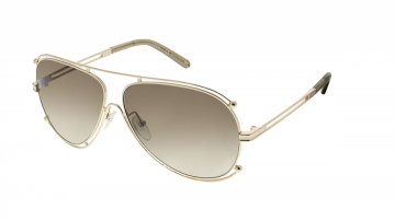 Óculos de Sol Feminino Chloé Isadora Aviator CE 121S