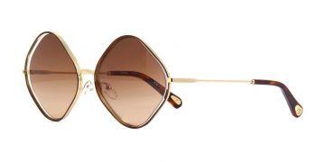 Óculos de Sol Feminino Chloé Poppy Ecaille CE 159S