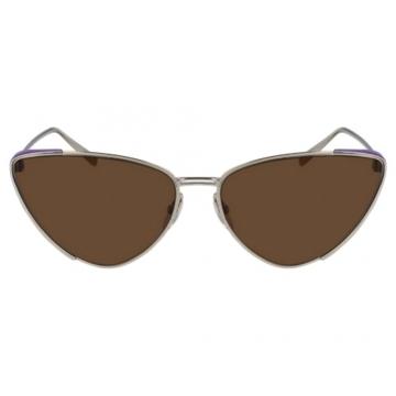 Óculos de Sol Feminino Salvatore Ferragamo SF206s Marrom