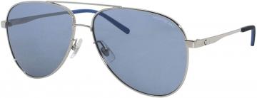 Óculos de Sol Masculino Mont Blanc MB0103 Espelhado Prata