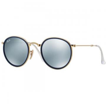 Óculos de Sol Ray-Ban 3517 Dobrável  Espelhado Azul