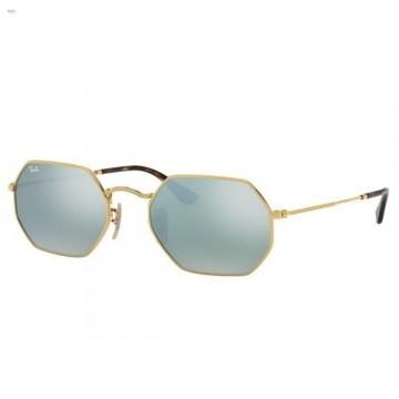Óculos de Sol Ray-Ban Octagonal Espelhado Prata