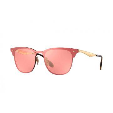 Óculos de Sol Unissex Ray-Ban Blaze ClubMaster Rosa