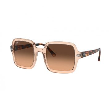 Óculos de Sol Feminino Ray-Ban RB2188 Marrom Translúcido