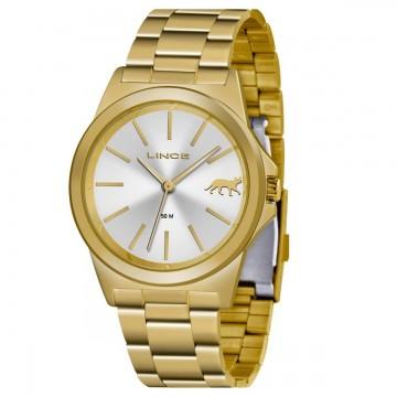 Relógio Feminino Lince Dourado LRGH125L