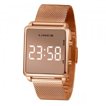 Relógio Feminino Lince Rosê MDR4619L