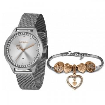 Relógio Feminino Lince  Prata LRM4666L