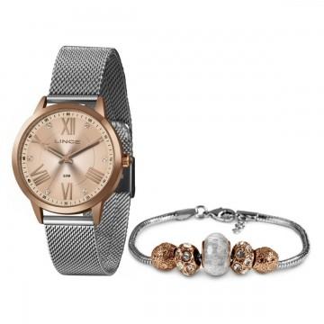 Relógio Feminino Lince  Prata LRT4651L