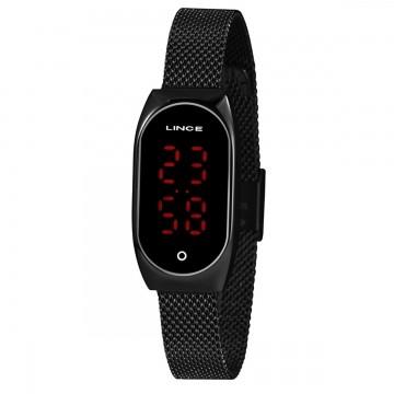 Relógio Feminino Lince Preto LDN4641L