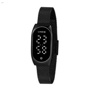 Relógio Feminino Lince Preto LDN4642L