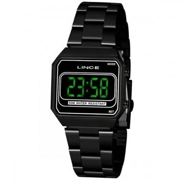 Relógio Feminino Lince Preto MDN 4644L