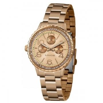 Relógio Feminino Lince Rosê  LMR4624L