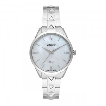 Relógio Feminino Orient Prata/Madre Pérola