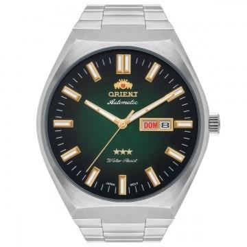 Relógio Masculino Orient Automático Prata