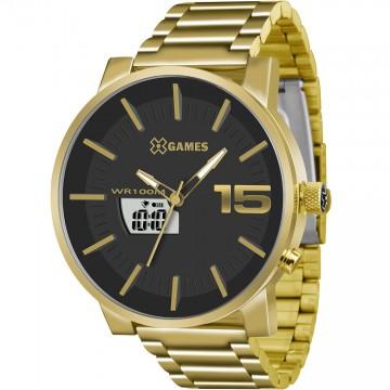 Relógio Masculino  X-Games XMGSA001 Dourado