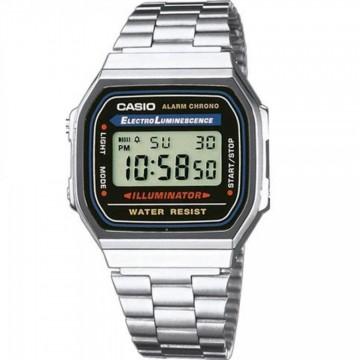 Relógio Unissex Casio A168WA Prata